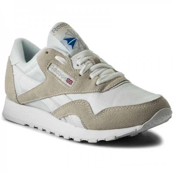 Reebok Chaussures Cl Nylon 6390 White/Light Grey