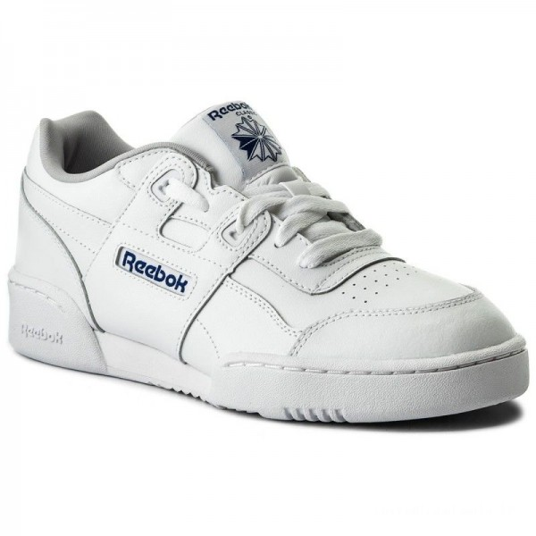 Reebok Chaussures Workout Plus CN1826 White/Steel/Royal