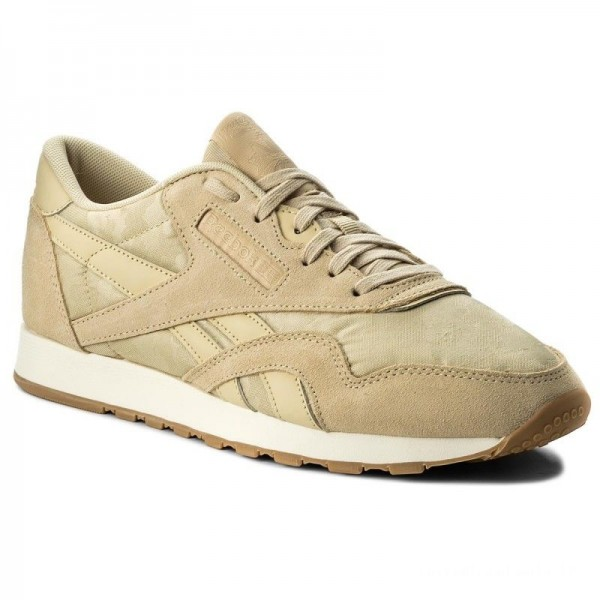 Black Friday 2020 | Reebok Chaussures Cl Nylon Sg BS9568 Straw/Chalk