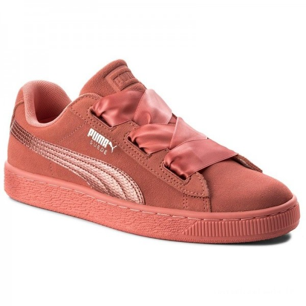 Puma Sneakers Suede Heart SNK Jr 364918 05 Shell Pink/Shell Pink