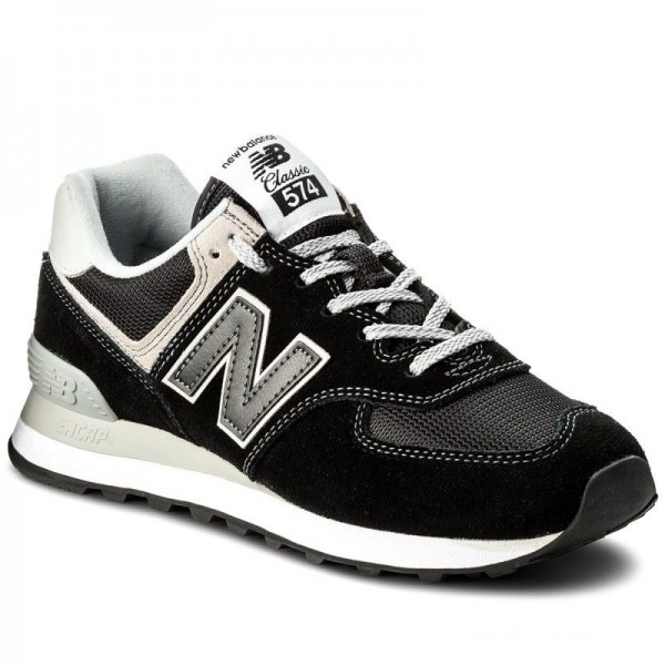 New Balance Sneakers ML574EGK Gris Noir