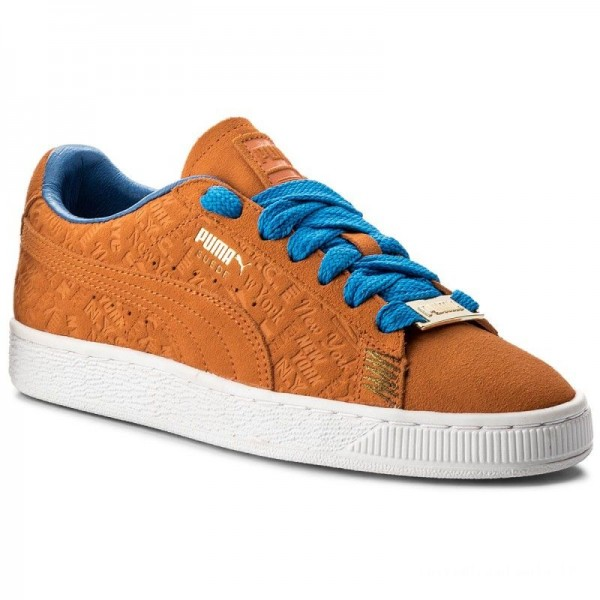 Puma Sneakers Suede Classic 366293 01 Vibrant Orange