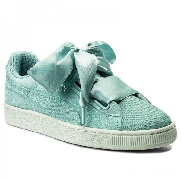 Black Friday 2020 | Puma Sneakers Suede Heart Pebble Wn's 365210 03 Aquifer/Blue Flower