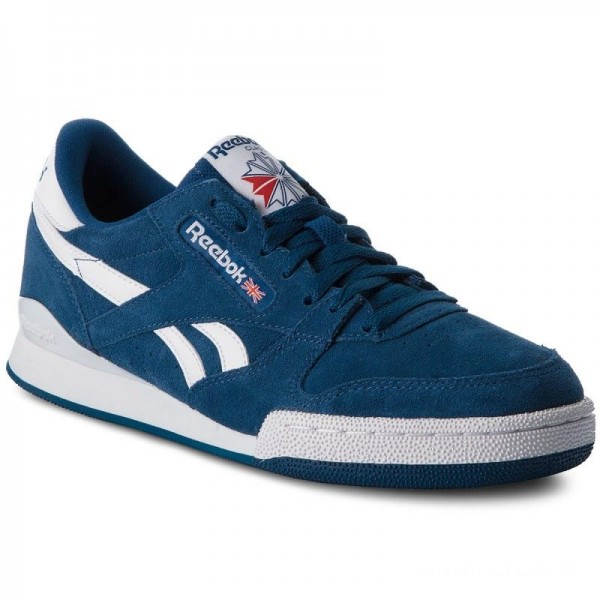 Reebok Chaussures Phase 1 Pro Mu CN3427 Bunker Blue/White