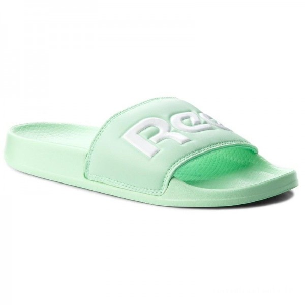 Black Friday 2020 | Reebok Mules / sandales de bain Classic Slide CN4189 Splt/Digital Green/White