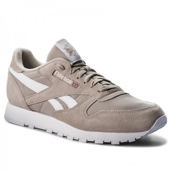 Black Friday 2020 | Reebok Chaussures Cl Leather Mu CN5016 Parchment/White