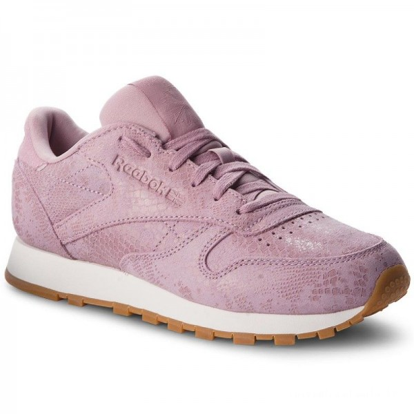Black Friday 2020 | Reebok Chaussures Cl Lthr CN4023 Exotics/Infused Lilac/Cha