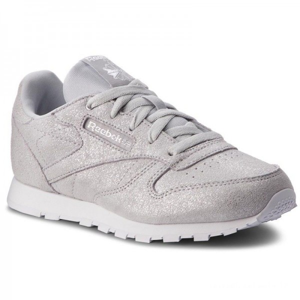 Black Friday 2020 | Reebok Chaussures Classic Leather CN5582 Silver Met/Grey/Wht