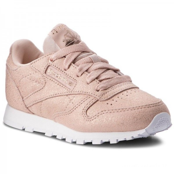 Reebok Chaussures Classic Leather CN5589 Rose Gold/Beige/Whit
