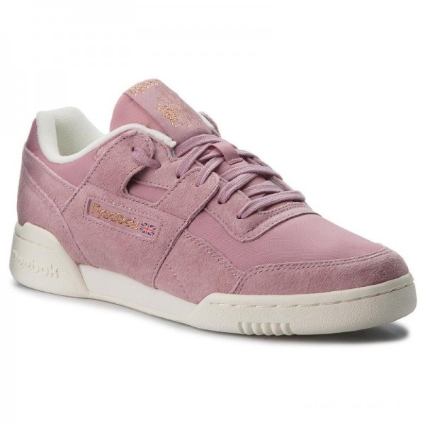 Black Friday 2020 | Reebok Chaussures Workout Lo Plus CN4623 Infused Lilac/Chalk/Rose