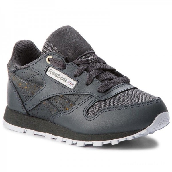 Reebok Chaussures Classic Leather CN5161 Marble/Stealth/White