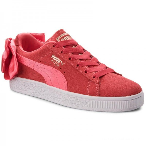 Black Friday 2020 | Puma Sneakers Suede Bow Jr 367316 02 Paradise Pink/Paradise Pink