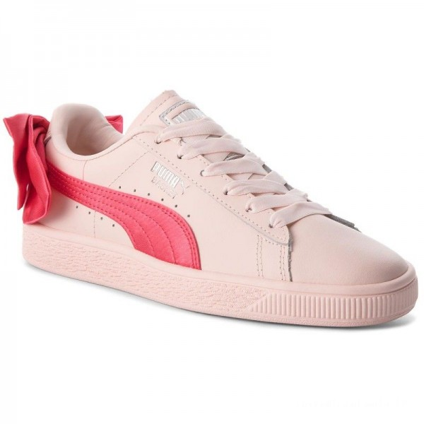 Black Friday 2020 | Puma Sneakers Basket Bow Jr 367321 02 Paradise Pink/Paradise Pink