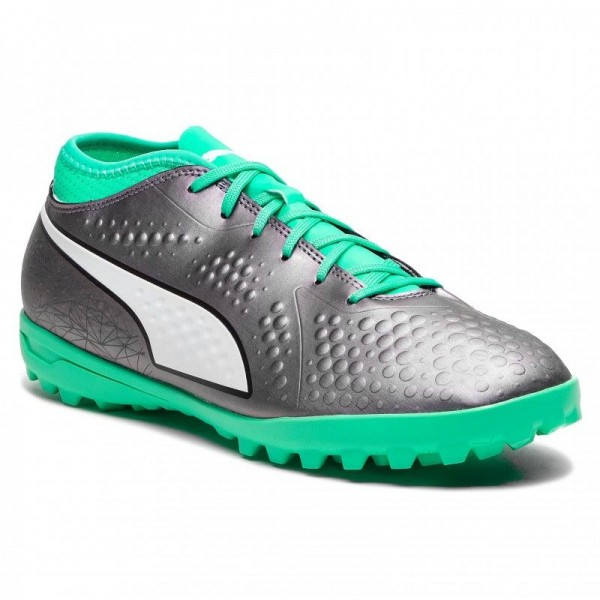 Puma Chaussures One 4 Il Syn Tt 104934 01 Col Shift/Green/White/Black