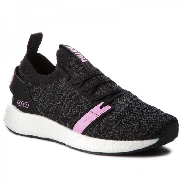 Puma Sneakers Ngry Neko Engineer Knit Wns 191094 01 Black/Iron Gate/Orchid