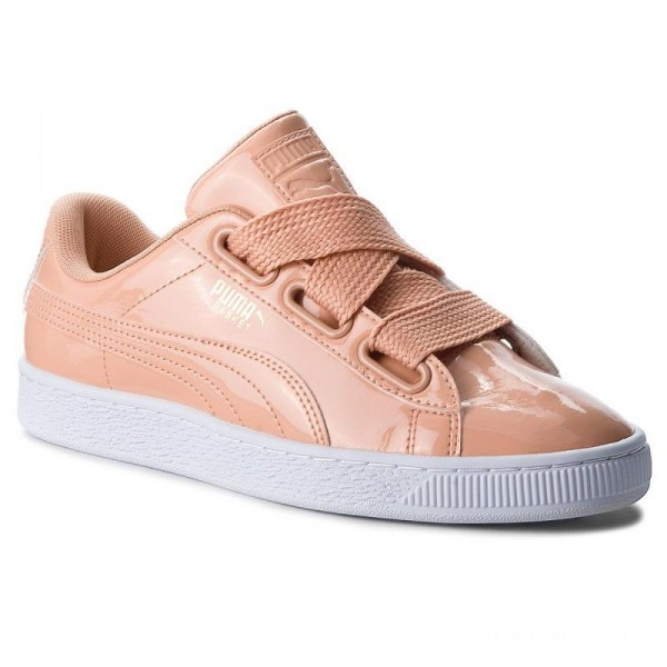 Puma Sneakers Basket Heart Patent 363073 16 Dusty Coral/Dusty Coral