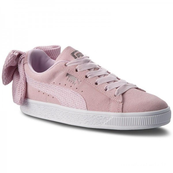 Puma Sneakers Suede Bow Uprising Wn's 367455 03 Winsome Orchid/Puma White