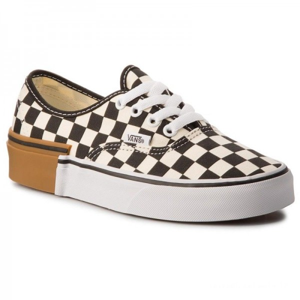 Vans Tennis Authentic VN0A38EMU58 (Gum Block) Checkerboard