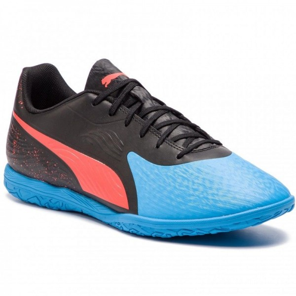 Puma Chaussures One 19.4 It 105496 01 Bleu Azur/Red Blast/Black