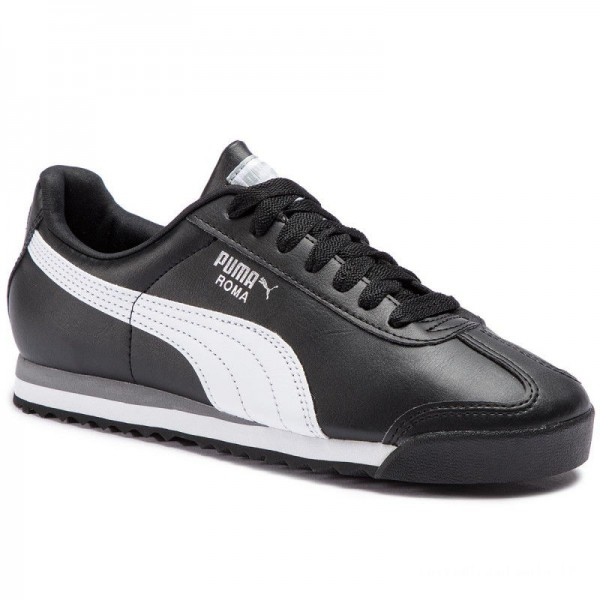 Puma Sneakers Roma Basic 353572 11 Black/White/Puma Silver