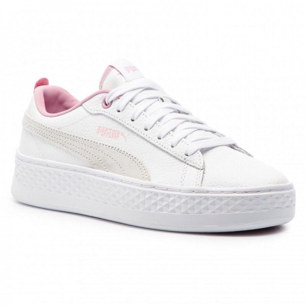 Puma Sneakers Smash Platform L 366487 08 White/Pale Pink