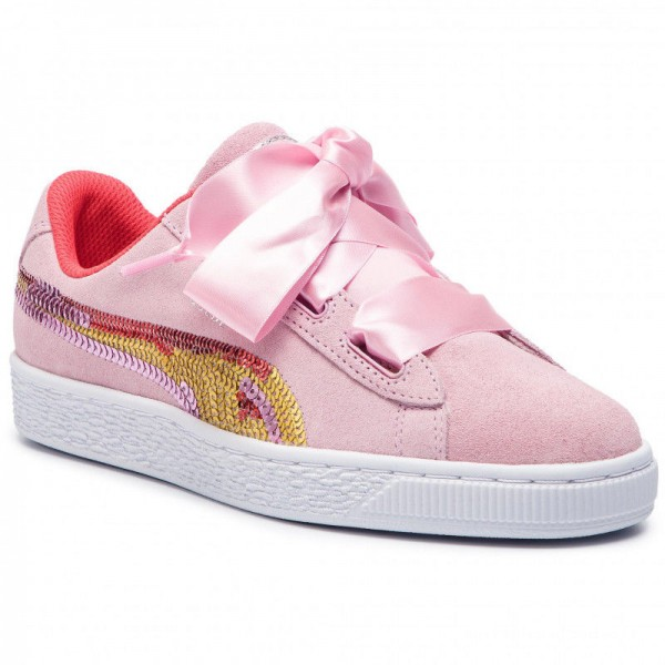 Black Friday 2020 | Puma Sneakers Suede Hrt Trailblazer Sqn Jr 368953 01 Pale Pink/Hibiscus