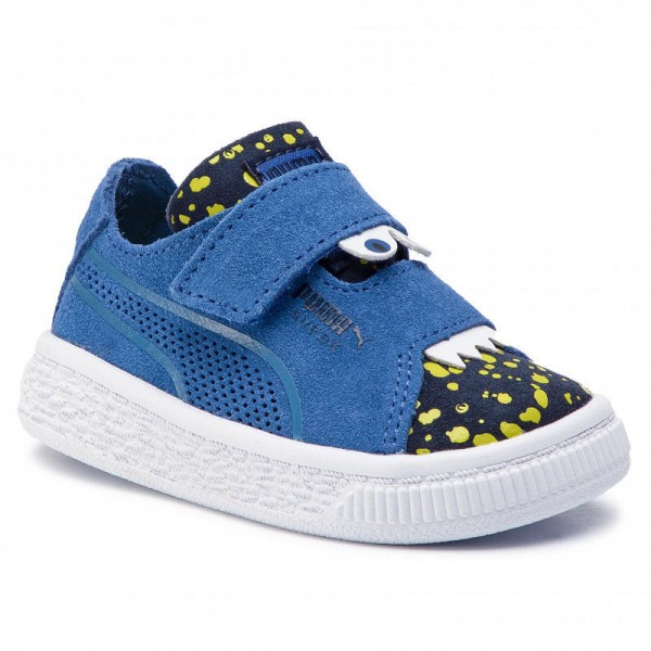 Puma Sneakers Suede Deconst. Monster V Inf 369093 02 Surf The Web/Peacoat/Yellow