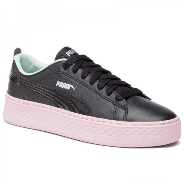 Puma Sneakers Smash Platform Trailblazer 369133 01 Black/Fair Aqua/Pale Pink
