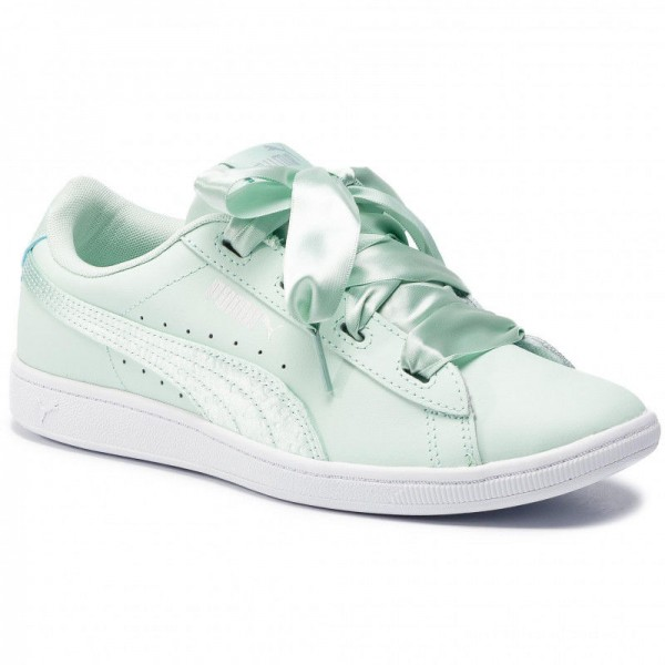 Puma Sneakers Vikky Ribbon L Satin Jr 369542 01 Fair Aqua/Fair Aqua