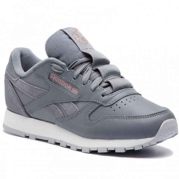 Reebok Chaussures Cl Lthr CN7023 Cold Grey/Smoky Rose