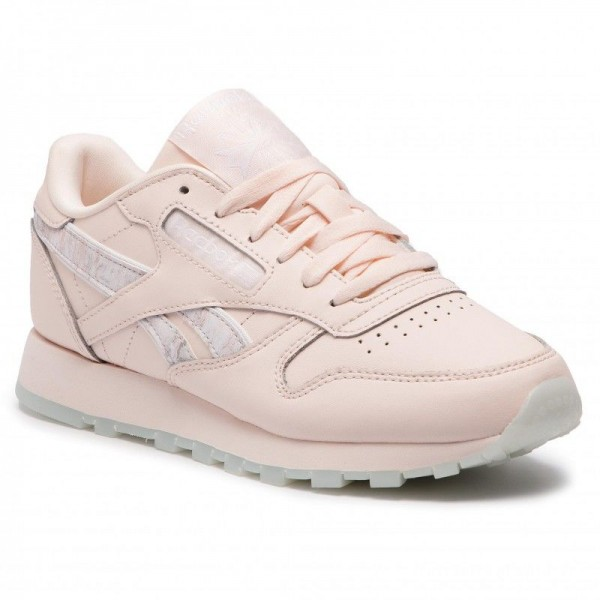 Black Friday 2020 | Reebok Chaussures Cl Leather DV3729 Pale Pink/White/Stell Pnk