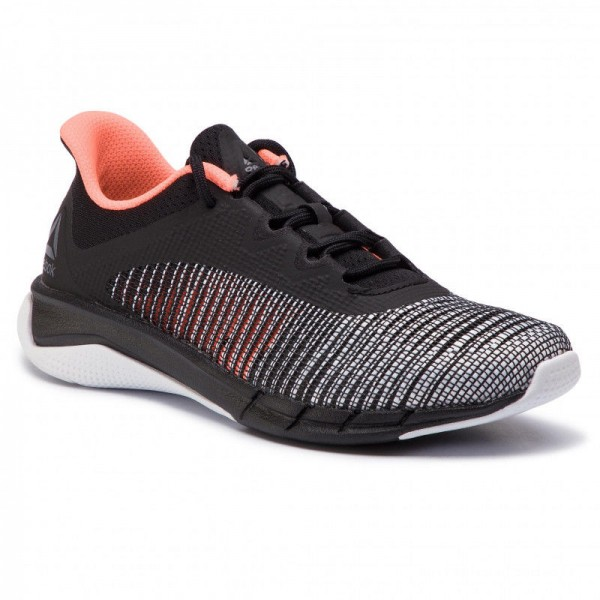 Black Friday 2020 | Reebok Chaussures Fast Tempo Flexweave CN6612 Black/White/Guava