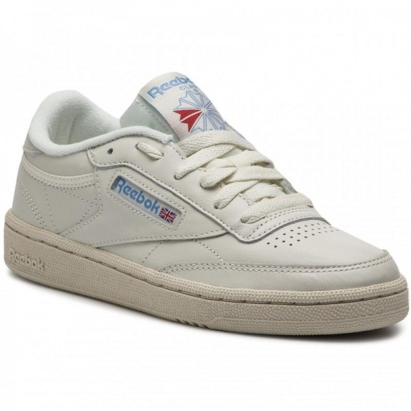 Reebok Chaussures Club C 85 V69406 Chalk/Pprwhite/Blue/Red