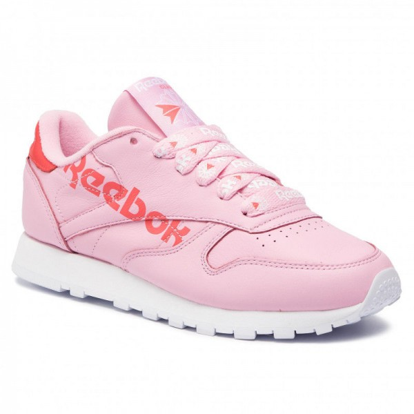Reebok Chaussures Cl Lthr DV3831 Charming Pink/Red/White