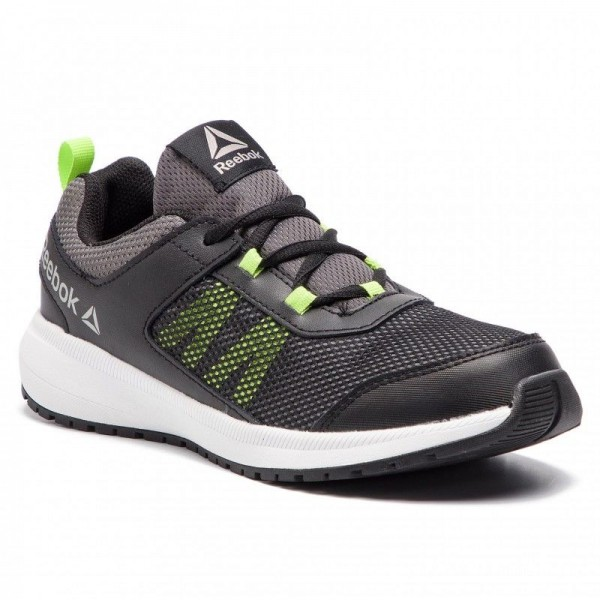 Reebok Chaussures Road Supreme CN8567 Black/Alloy/Lime/Wht/Pwt
