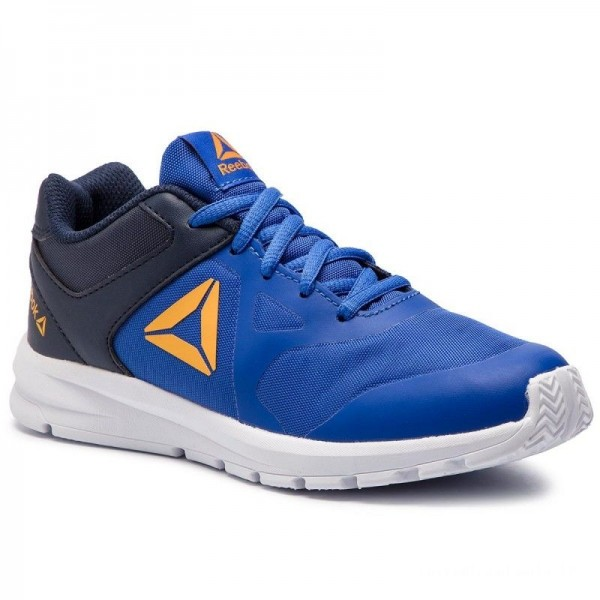 Reebok Chaussures Rush Runner DV4434 Cobalt/Navy/Gold