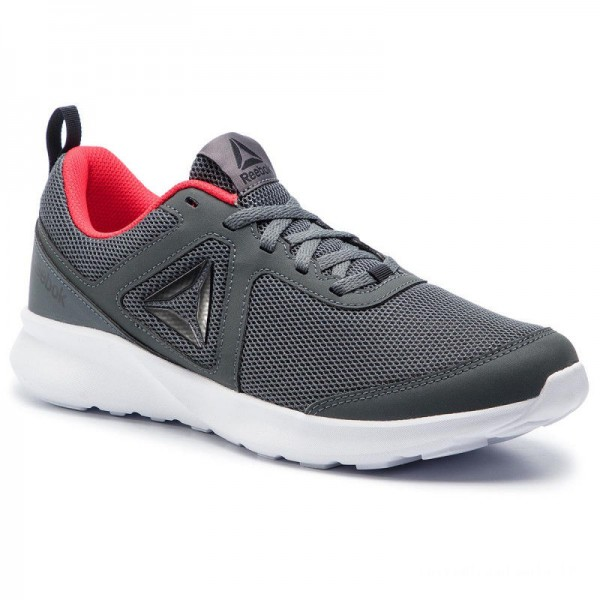 Reebok Chaussures Quick Motion DV4801 Grey/Black/Red/White