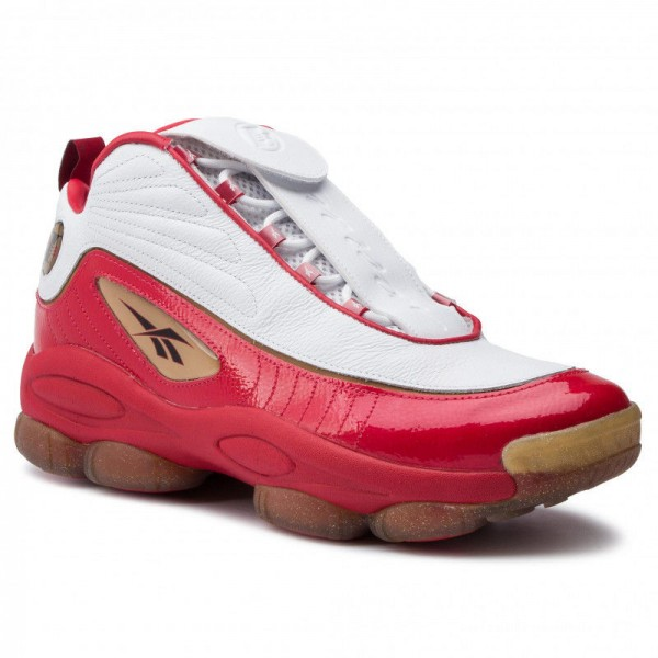 Black Friday 2020 | Reebok Chaussures Iverson Legacy CN8406 Red/White/Black/Brass