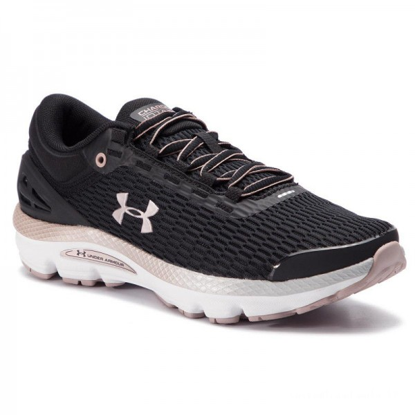 Black Friday 2020 | Under Armour Chaussures Ua W Charged Intake 3 3021245-002 Blk