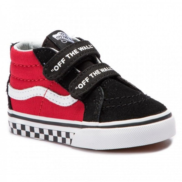 Vans Sneakers Sk8-Mid Reissue V VN0A348JVI71 (Logo Pop) Black/True Whi