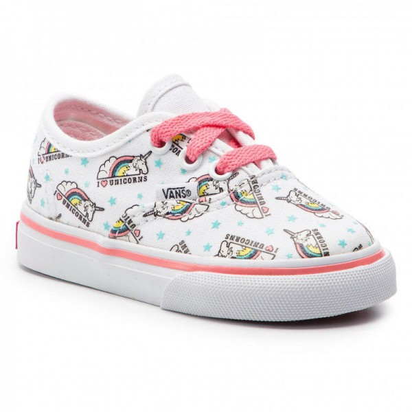 Vans Tennis Authentic VN0A38E7VI91 (Unicorn) True White/Stra