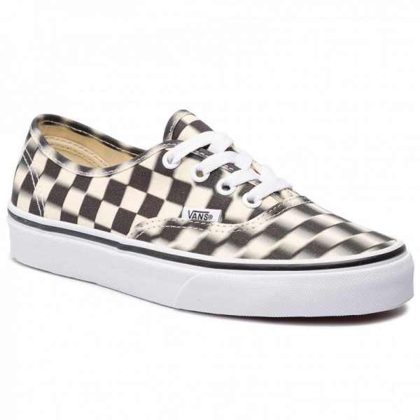 [Vente] Vans Tennis Authentic VN0A38EMVJM1 (Blur Check) Black/Classi