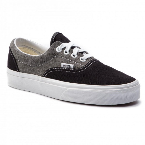 Black Friday 2020 | Vans Tennis Era VN0A38FRVJ61 (Chambray) Canvas Black/T