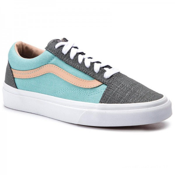 Vans Tennis Old Skool VN0A38G1VMM1 (Textured Suede) Pewter/A