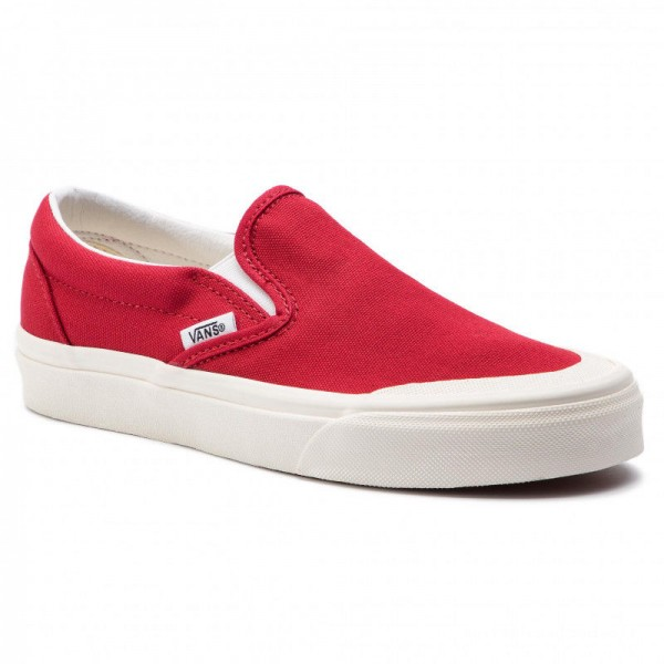 Vans Tennis Classic Slip-On 1 VN0A3TKBFTZ1 Tango Red