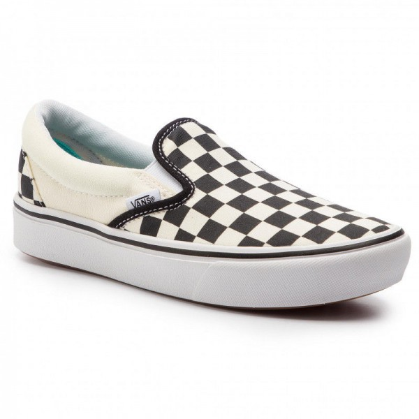 Black Friday 2020 | Vans Tennis Comfycush Slip-On VN0A3WMDVO41 (Classic) Checkerboard/Tr