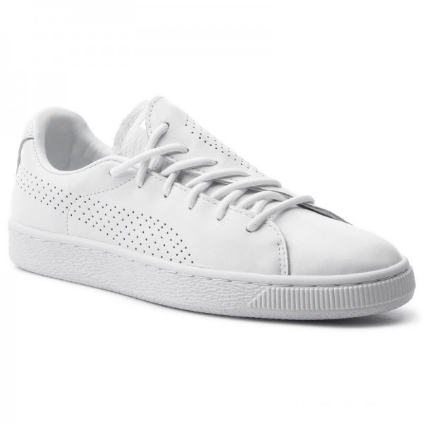 Puma Sneakers Basket Crush Perf Wn's 369689 01 White/Puma White