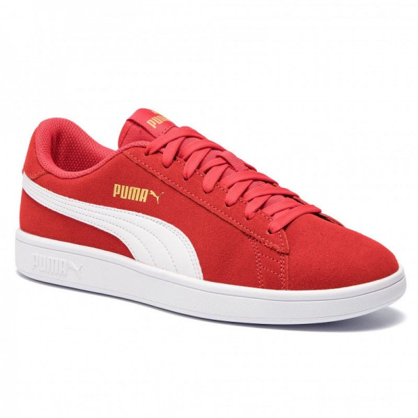 Puma Sneakers Smash V2 364989 22 High Risk Red/White/Gold