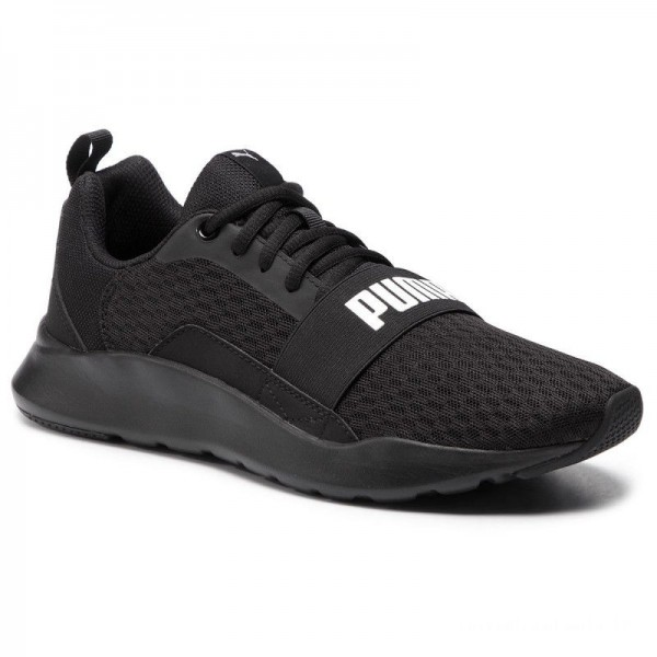 Puma Chaussures Wired 366970 01 Black/Puma Black/Black