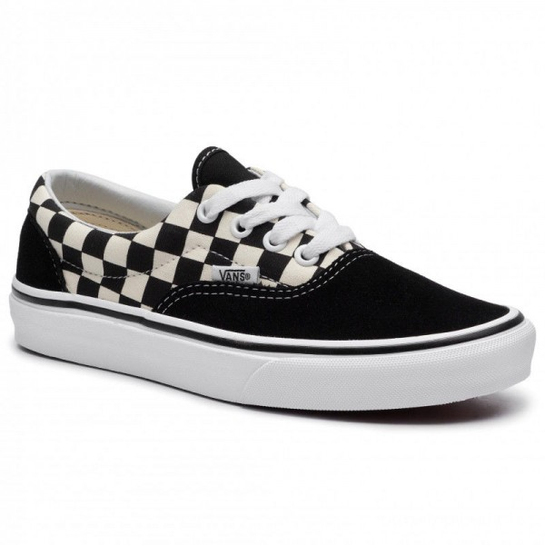Vans Tennis Era VN0A38FRP0S1M (Primary Check) Blk/White
